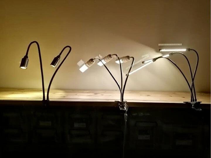植物育成用LEDライトを比べてみよう